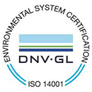 Quality system certification - ISO 14001