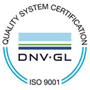 Quality system certification - ISO 9001